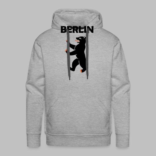 BERLIN - Berliner Bär (Vektor) - Männer Premium Hoodie