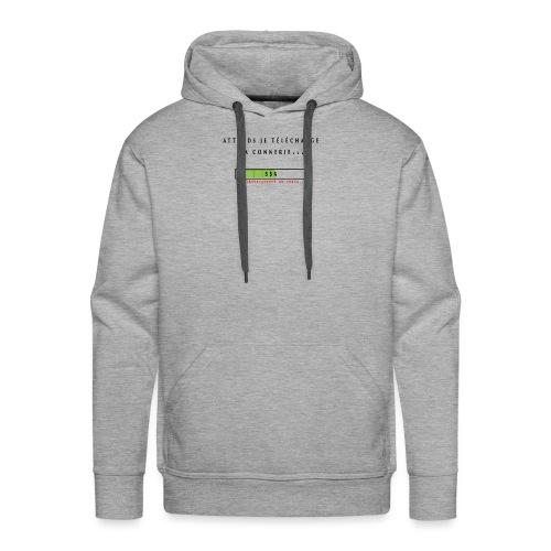 vetement telechargement - Sweat-shirt à capuche Premium pour hommes