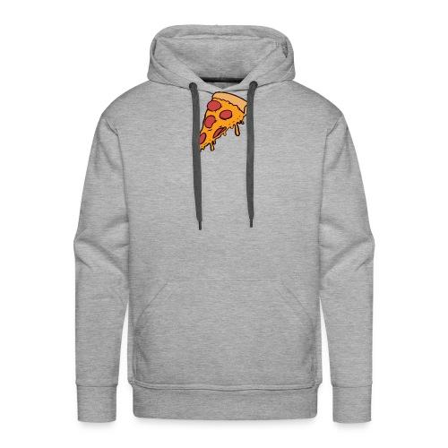 Pizza - Sudadera con capucha premium para hombre