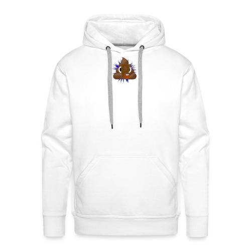 p0op Logo - Herre Premium hættetrøje