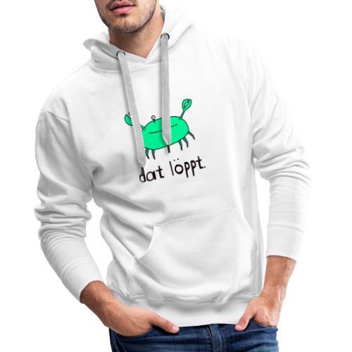 Ostfriesland FUN Shirt - Dat Löppt Strandkrabbe - Männer Premium Hoodie