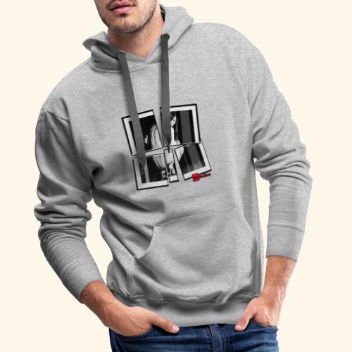asia art 3 - Sweat-shirt à capuche Premium pour hommes