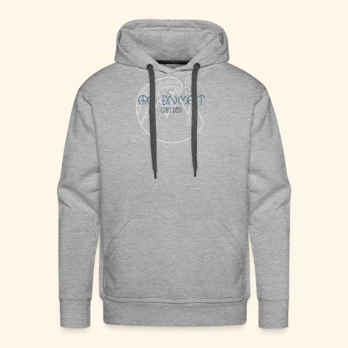 Arc en malt - Sweat-shirt à capuche Premium pour hommes