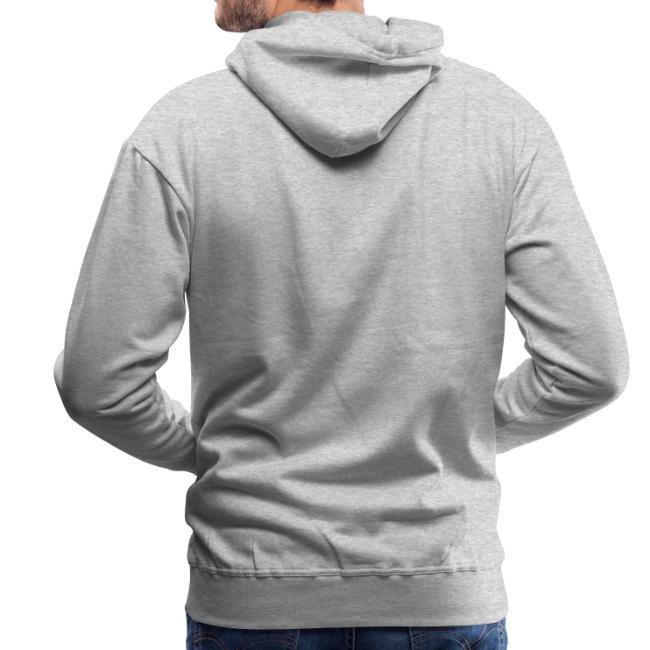 Vorschau: A Hirn wia a Nudlsieb - Männer Premium Hoodie