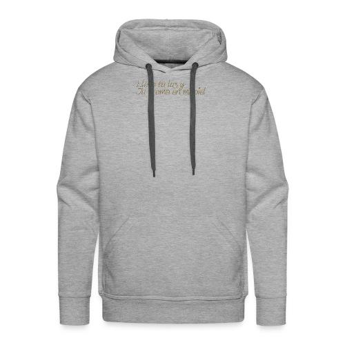 LLevoTuLuz - Sudadera con capucha premium para hombre
