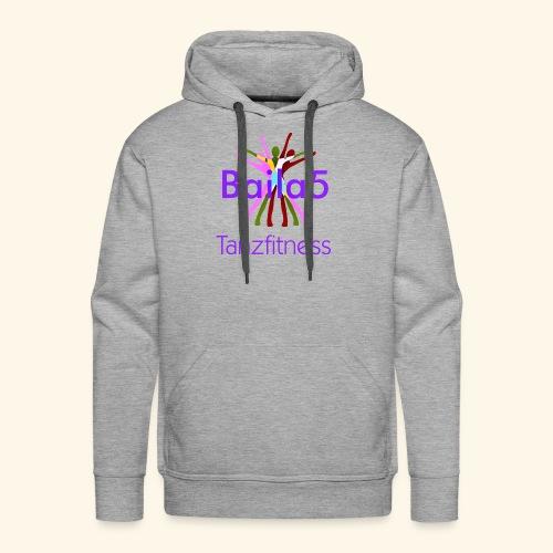 Baila5 Tanzfitness violet - Männer Premium Hoodie