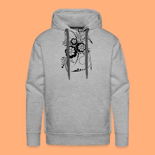 exposion florale - Sweat-shirt à capuche Premium pour hommes
