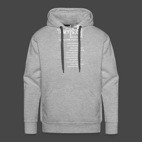 tekno23 - Sweat-shirt à capuche Premium pour hommes