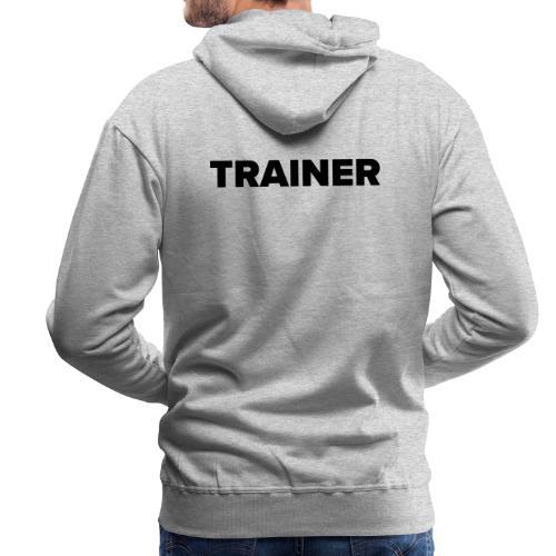 Workout Trainer Tshirt - Männer Premium Hoodie