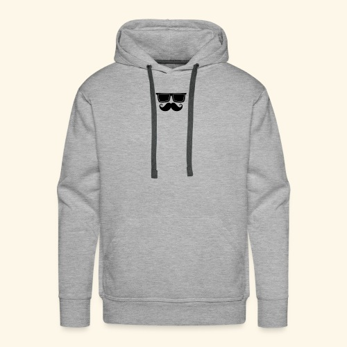 hipster style - Sweat-shirt à capuche Premium pour hommes