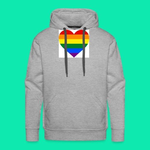 Pride- Heart - Men's Premium Hoodie