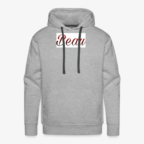 itzBeau Beau with white background - Men's Premium Hoodie