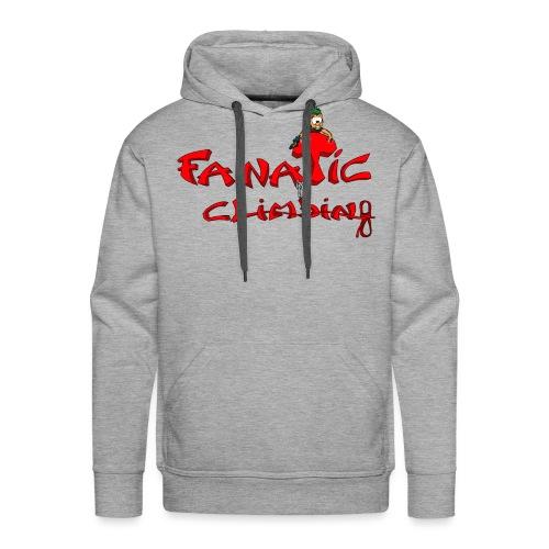 Fanatic Climbing - Sweat-shirt à capuche Premium pour hommes