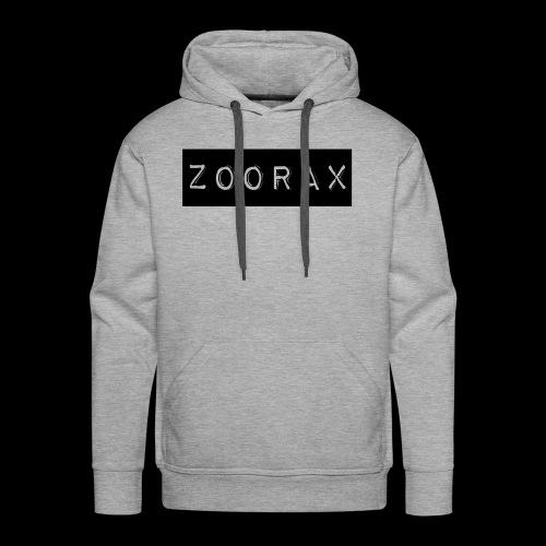 Zoorax black - Men's Premium Hoodie