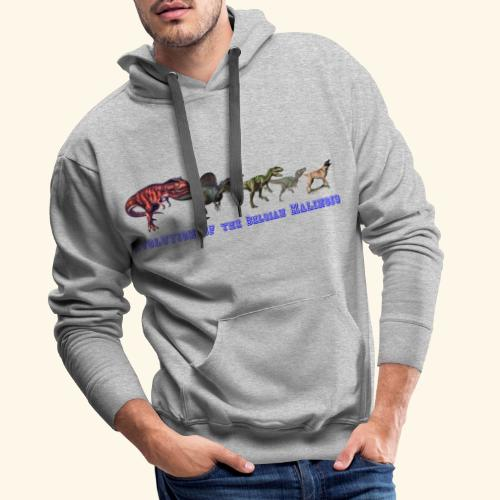 Evolution of the Belgian Malinois - Männer Premium Hoodie