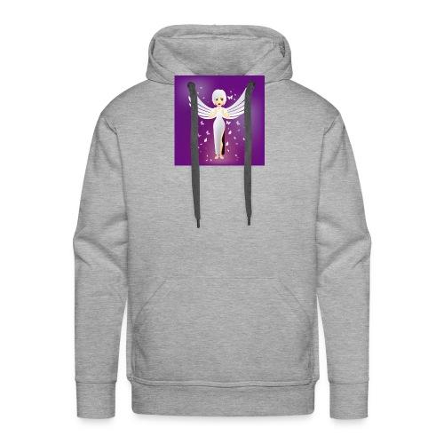 ángel 7 - Sudadera con capucha premium para hombre