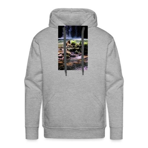 Cascade du grand Baou - Sweat-shirt à capuche Premium pour hommes