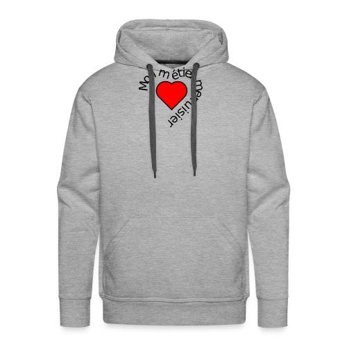 Collection Saint valentin standard - Sweat-shirt à capuche Premium pour hommes