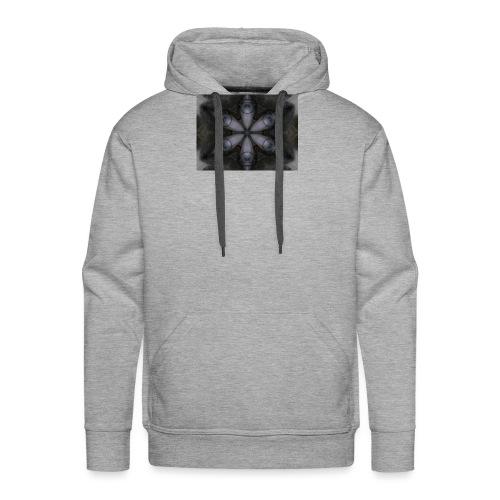 flor hipster - Sudadera con capucha premium para hombre