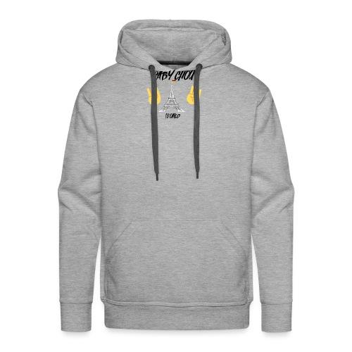 Gaby Chou crée par Colonel Salopard - Sweat-shirt à capuche Premium pour hommes