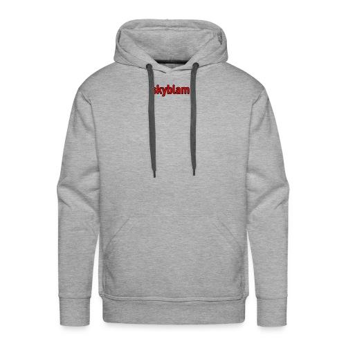 skyblam - Sweat-shirt à capuche Premium pour hommes