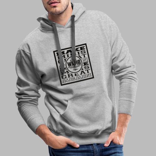 Montée MMGA - Sweat-shirt à capuche Premium pour hommes