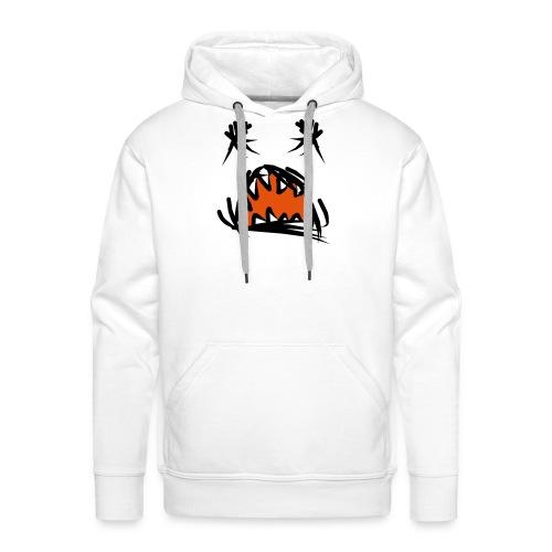 horror mond - Mannen Premium hoodie