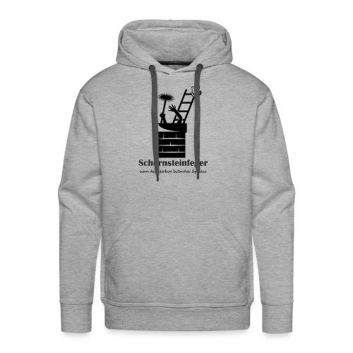 Schornsteinfeger im Kamin - Männer Premium Hoodie