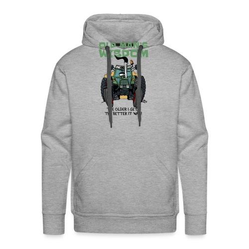 0163 oldmanswisdom F 307ls - Mannen Premium hoodie