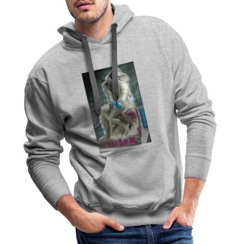 Le baiser - Sudadera con capucha premium para hombre