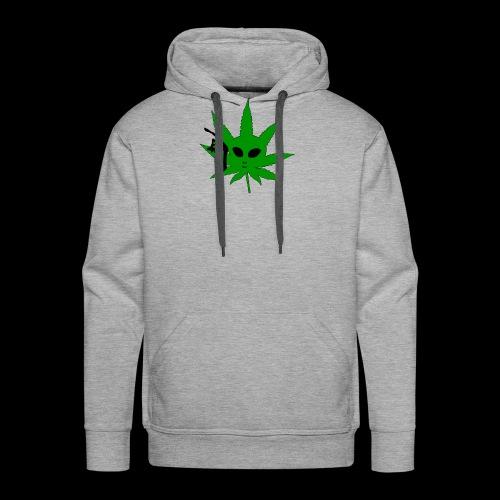 Alien Weed - Men's Premium Hoodie