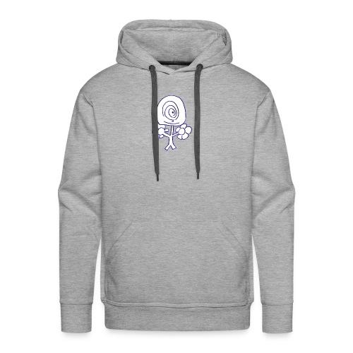 Poppetje 1 oog - Mannen Premium hoodie