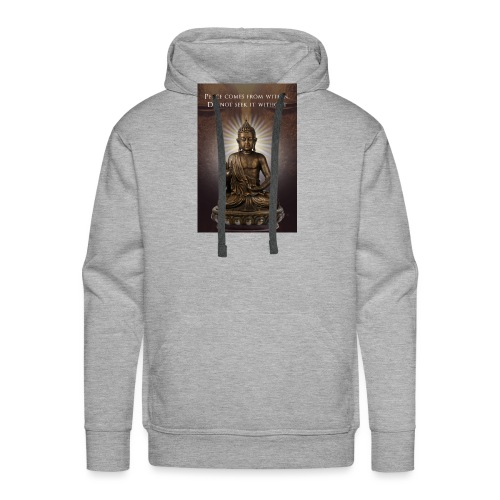 Peace from Within - Men's Premium Hoodie