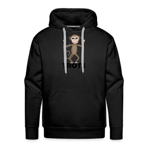 apetrots aapje wat trots is - Mannen Premium hoodie