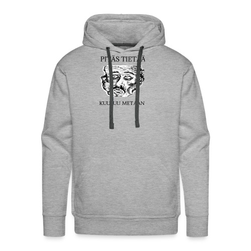 Meta: orgrinRT (on a light background) - Men's Premium Hoodie