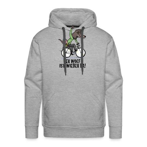 Wolf und Schweinchen - Männer Premium Hoodie