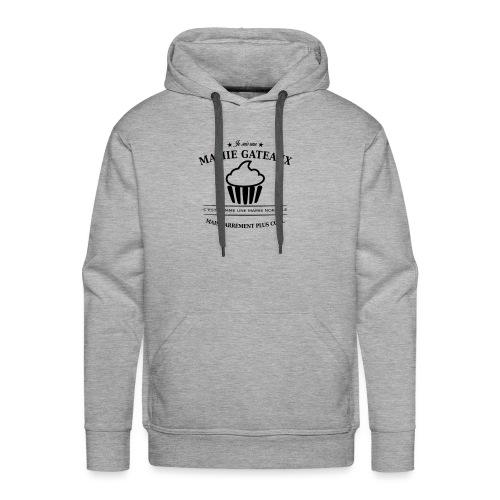 mamie gateaux - Sweat-shirt à capuche Premium pour hommes