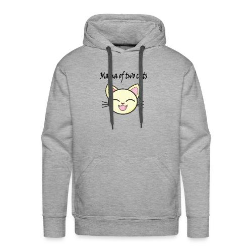 Katzen mama Katzenshirt - Männer Premium Hoodie