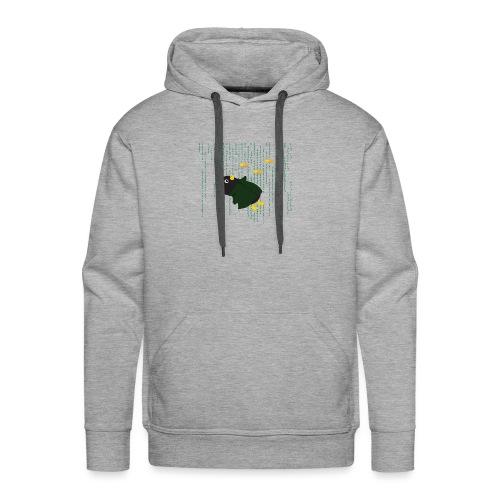 Pingouin Bullet Time - Sweat-shirt à capuche Premium pour hommes