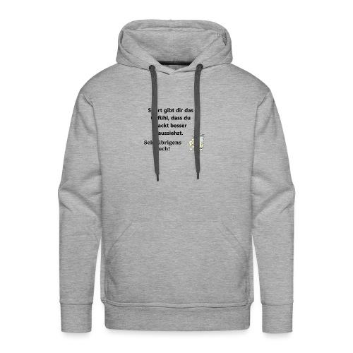 Fun T-Shirt Damen Zicke sekt - Männer Premium Hoodie