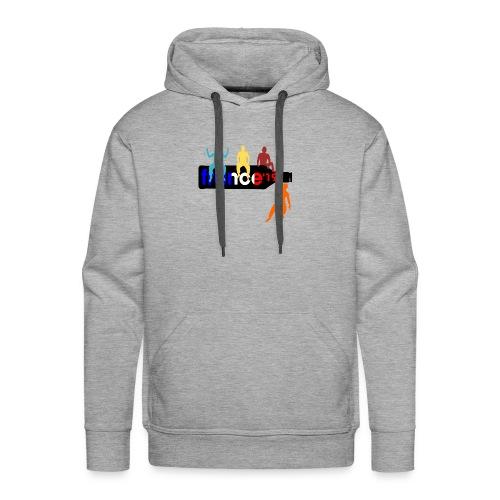 France Shirt Jungs Flasche vector bunt neu - Männer Premium Hoodie