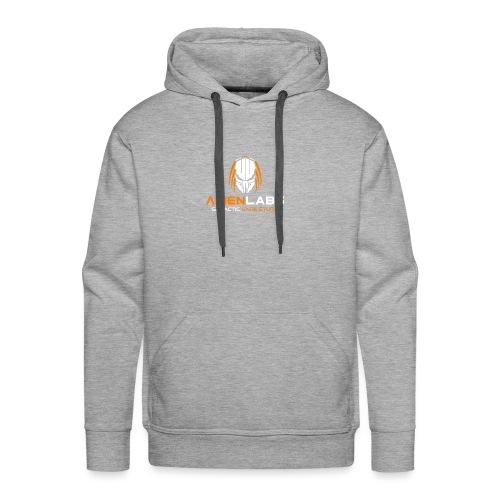 ALIEN LABS LOGO ora/wht - Männer Premium Hoodie