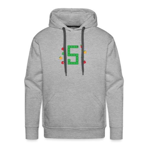 Serpent Tetris - Sweat-shirt à capuche Premium pour hommes