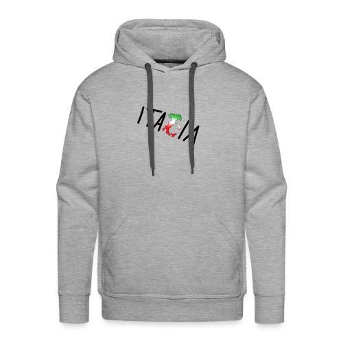 Italia T-Shirt Herren: Schriftzug - Männer Premium Hoodie