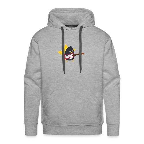 Pingouin Guitariste - Sweat-shirt à capuche Premium pour hommes