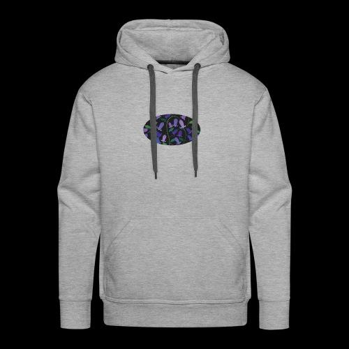 blue bells - Sweat-shirt à capuche Premium pour hommes