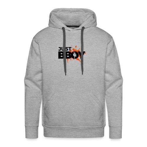 Breakdance Just B-Boy T-shirt - Men's Premium Hoodie