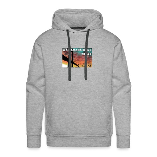 welcome to staten island - Sweat-shirt à capuche Premium pour hommes
