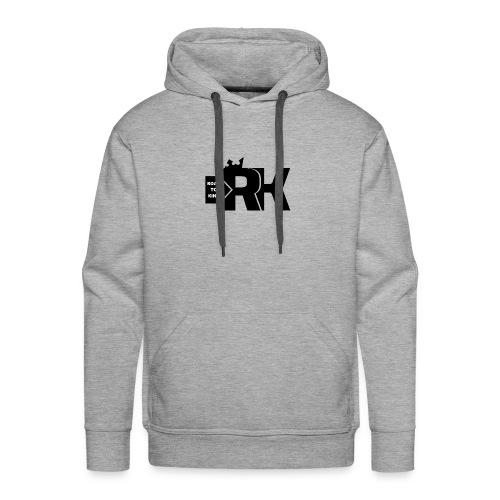 Road To King - Sweat-shirt à capuche Premium pour hommes