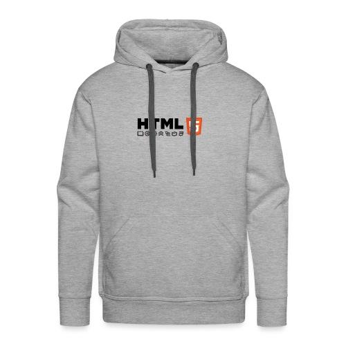 Html 5 - Sweat-shirt à capuche Premium pour hommes